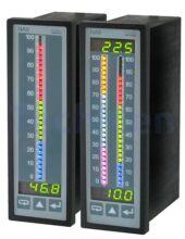 NA6, 2-bemenetű analóg kijelző, szabályzó bárgráffal