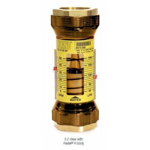 """Hedland EZ-VIEW átfolyásmérő - indikátor (rotaméter) vízre 1 1/2"""""""