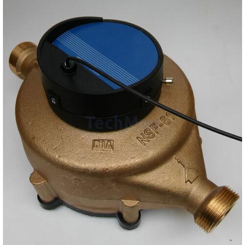 RCDL M70 mechanikus áramlásmérő bronz házban, kijelző nélkül
