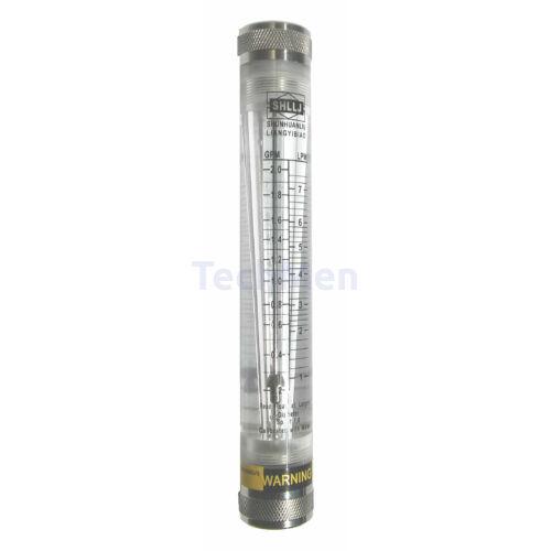 RZM-25G-L átfolyásmérő, kémlelőcső (rotaméter) gázokra