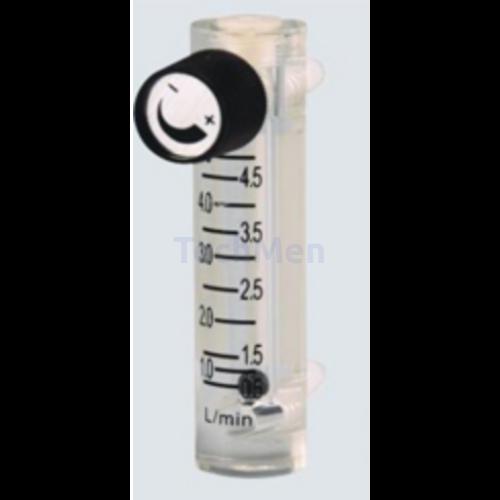 RZQ átfolyásmérő, kémlelőcső (rotaméter) levegőre