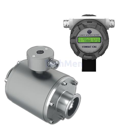 Comac Cal 38-as model indukciós áramlásmérő - élelmiszeripari kivitel DN15-80