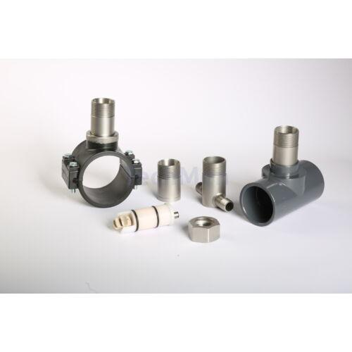 FPW impelleres áramlásmérő ragasztható PVC 'T' idommal
