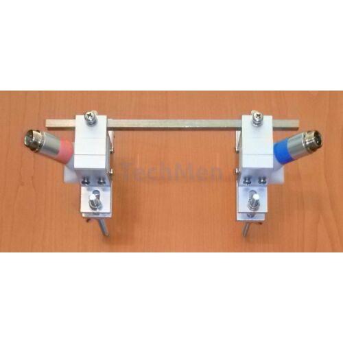 S mérőszonda felszerelő sín - DMTF áramlásmérő tartozék