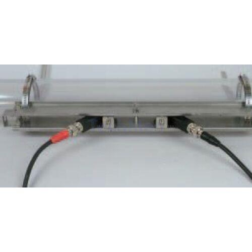 FSSA mérőszonda, felszerelő sínnel - Time Delta C áramlásmérő tartozék