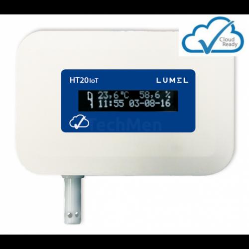 HT20 IoT  Hőmérséklet és páratartalom mérő és regisztráló IoT alkalmazásokhoz