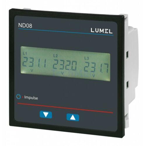 ND08-4, 230/400V hálózati mérő, analizátor