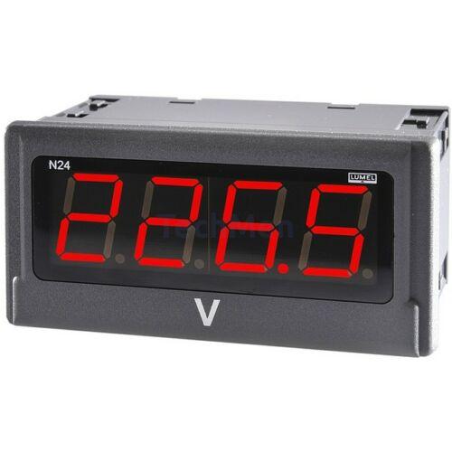 N24 H, DC áram vagy feszültség kijelző