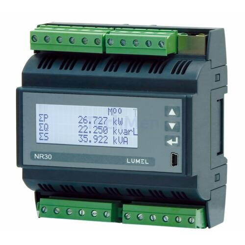 NR30, 3-fázisú hálózati analizátor