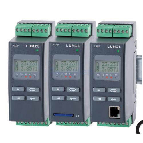 P30P Egyfázisú 230VAC hálózati paraméter távadó