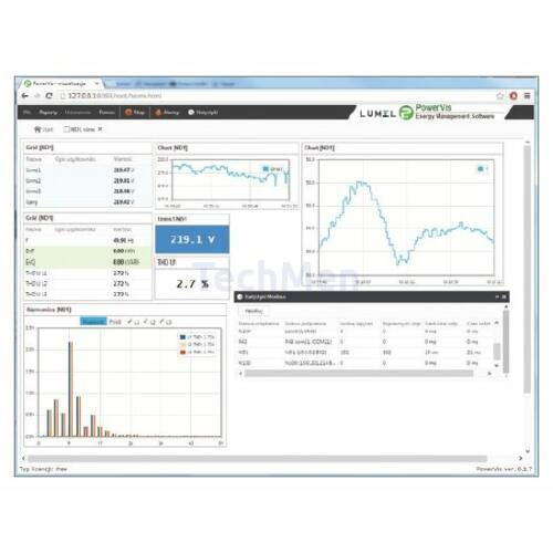 PowerVis villamos energia felügyeleti és kiértékelő program