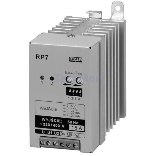 RP7 egyfázisú teljesítmény szabályozó