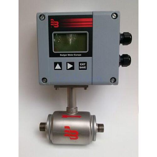 M 1000 Indukciós áramlásmérő - csőmenet csatlakozással, PTFE béléssel
