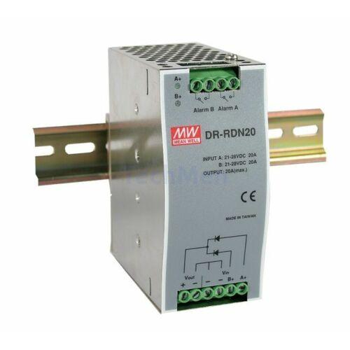 DR-RDN20 Tápegység redundancia modul