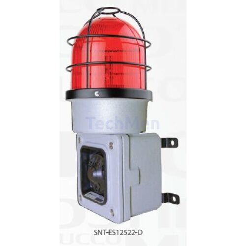 SNT-ES  Ipari kivitelű figyelmeztető fényjelző (opcionális)  és sziréna