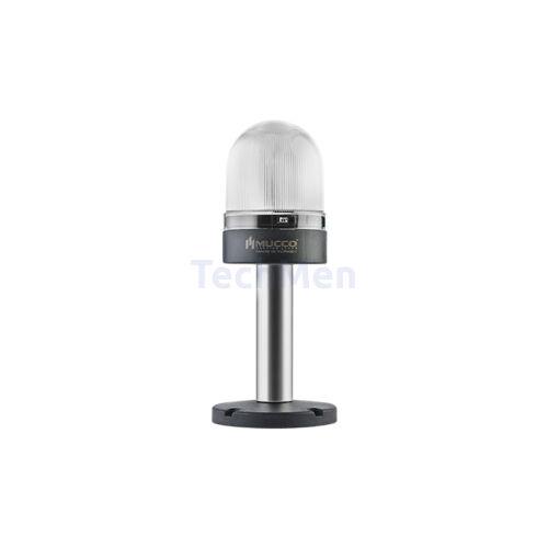 SNT-S74-RGB T négyszínű figyelmeztető lámpa és sziréna hosszú lábbal