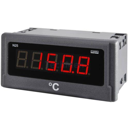 N25 H, DC áram vagy feszültség kijelző