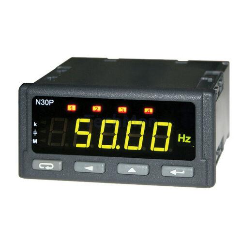N30P - 230VAC hálózati analizátor, kijelző, távadó, szabályzó