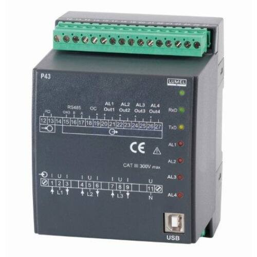 P43, 3-fázisú hálózati jelek távadója