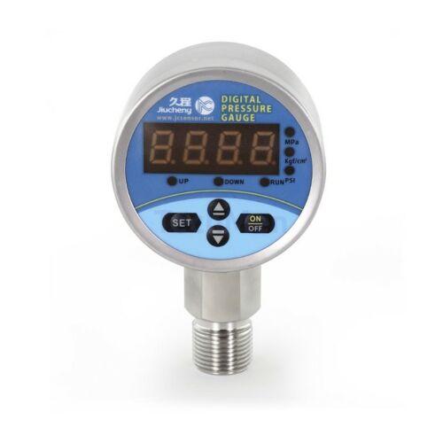 JC641-60 Digitális manométer, nyomáskapcsoló 60mm - relatív nyomásmérés