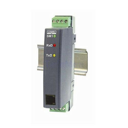 SM1 kétcsatornás analóg jel / RS-485 konverter