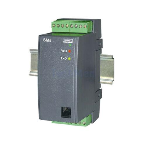 SM5, 8 digitális jel / RS-485 átalakító