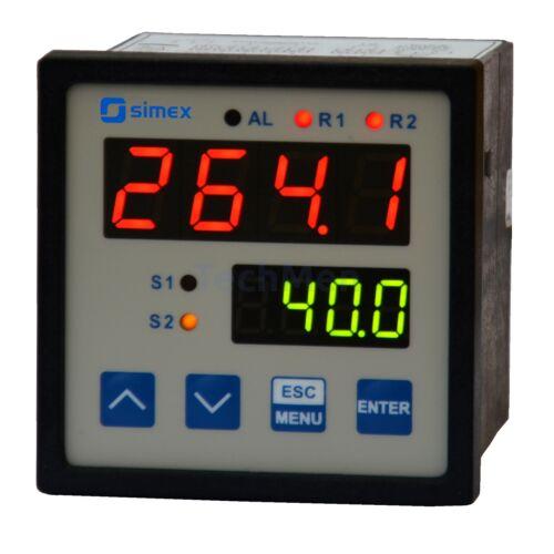 SRT-77 hőmérő kijelző, szabályzó