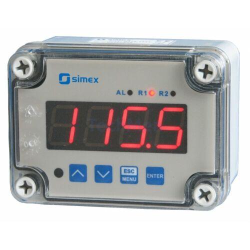SRT-N118 falra szerelhető hőfokszabályzó, kijelző