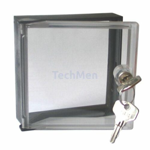 STD-141 átlátszó plexi ablak 146x147mm