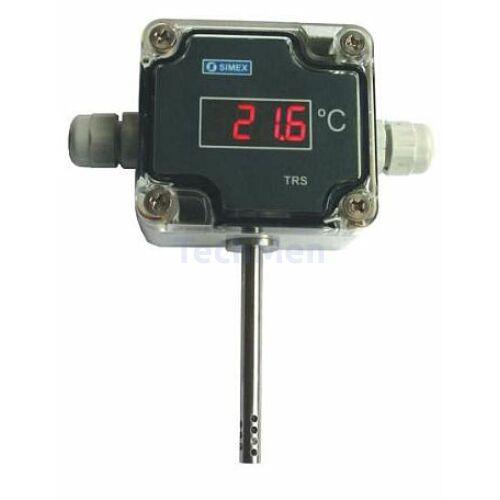 TRS-11a hőmérő & kijelző Modbus kimenettel